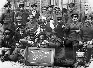 Unsere Gründungsmitglieder um 1921